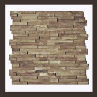 RS-HO-002  Wand-Design Holz Verblender Teakholz Wandverkleidung