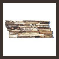 Verblender - Teakholz Mosaik HO-003