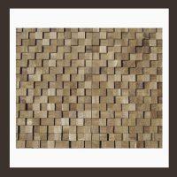 RS-HO-004  Wand-Design Holz Verblender Teakholz Wandverkleidung