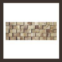 Verblender - Teakholz Mosaik HO-004