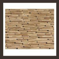 RS-HO-007 Wand-Design Holz Verblender Teak-Holz Wandverkleidung