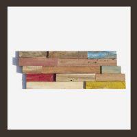 Verblender HO-009 - 3D Teak-Holz Mosaik