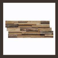 Teak Holz Verblender - 3D Mosaik Fliesen HO-010