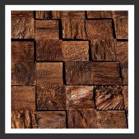 HU-002 Holz-Design Holz Verblender Teak Holz Verkleidung