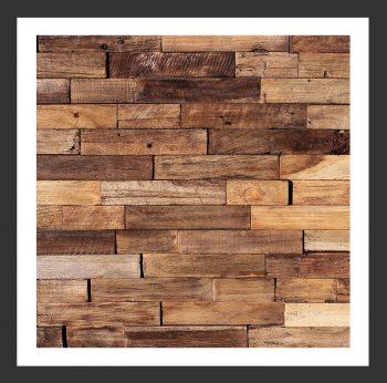 HU-003 Holz-Design Holz Verblender Teak Holz Verkleidung