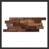 HU-007 Holz-Design Holz Verblender Teak Holz Verkleidung