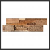 HU-011 Holz-Design Holz Verblender Teak Holz Verkleidung