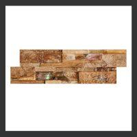 HU-001 Holz-Design Holz Verblender Teak Holz Verkleidung