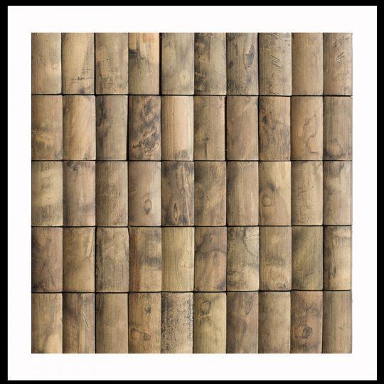 BM-002 Holz-Design Verblender Bambus Mosaik-Fliesen Bamboo-Mosaic