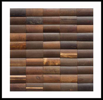 BM-004 Bambus Mosaikfliesen Holz-Design Bamboo-Mosaic