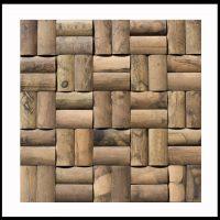 BM-007 Wand-Design Verblender Bambus Mosaikfliesen Bamboo-Mosaic