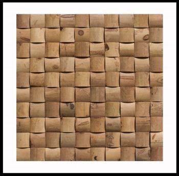 BM-011 Mosaikfliesen Bambus-Design Holzverkleidung Bamboo-Mosaic